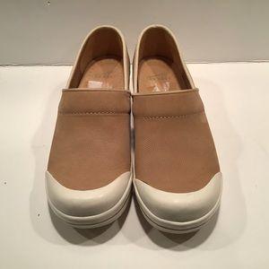 Dansko Tan Sneaker Clog